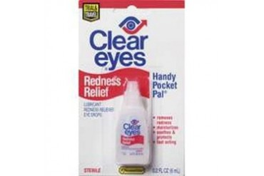 48 Pack Lil Drug Store Clear Eyes 7-92554-72103-5 .2Oz Eye Drops