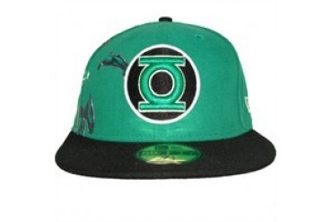 DC Comics Green Lantern Logo Character Materialize Embroidered 59Fifty Hat