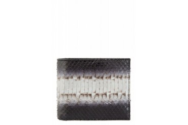 Paul Smith Black Snakeskin Bifold Wallet