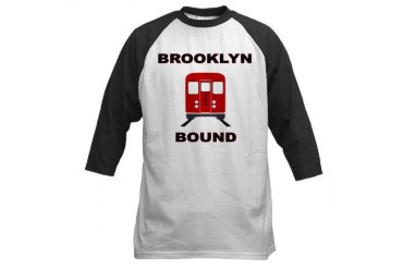 Brooklyn Bound New york Baseball Jersey by CafePress