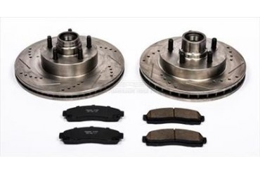 Power Stop Performance Brake Upgrade Kit K1920 Replacement Brake Pad and Rotor Kit