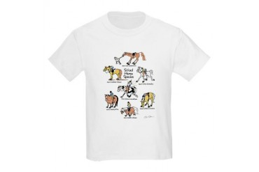 School Horse Species Kids T-Shirt