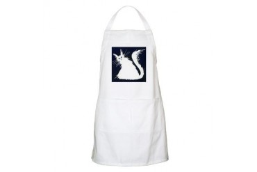 Snow Shoe Stray Cat Cat Apron by CafePress