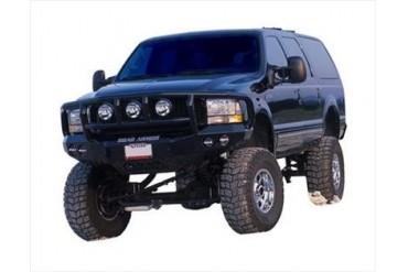 Road Armor Front Stealth Winch Bumper with Titan II Guard in Satin Black 66002B Front Bumpers