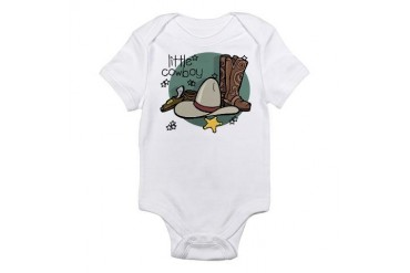 Little Cowboy Baby Infant Bodysuit