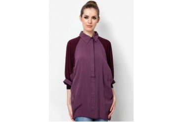 Ethnic Chic Ayu Cotton Chiffon Blouse