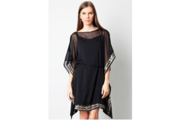 Chanira See Through Sleeve Mini Dress