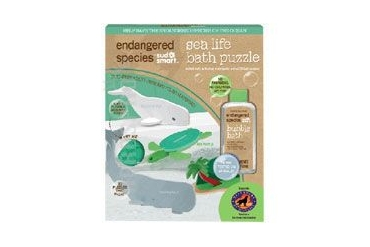 Endangered Species Small Puzzle Bath Set Sea Life 1 Set