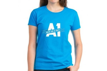 A1DAY Women's Dark T-Shirt