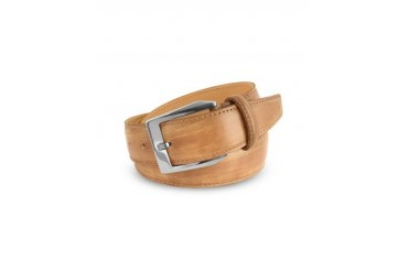 Men's Sand Hand Painted Italian Leather Belt