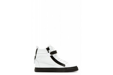 Giuseppe Zanotti Ssense Exclusive White Leather High top Sneakers