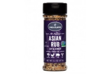 Fire amp Flavor All Natural Asian Rub