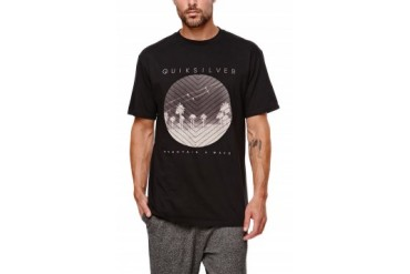 Mens Quiksilver T-Shirts - Quiksilver Team Spirit T-Shirt