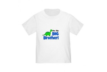 I'm The Big Brother! Dinosaur Toddler T-Shi