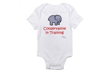 Conservative in Training Infant Bodysuit