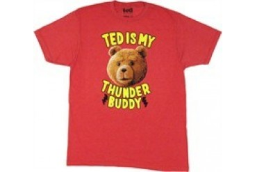 Ted is My Thunder Buddy T-Shirt Sheer
