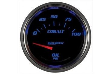 Auto Meter Cobalt Electric Oil Pressure Gauge 7927 Gauges