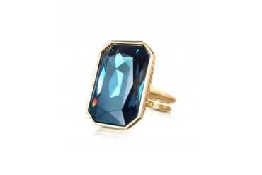 Elizabeth - Yellow Gold Plated Bronze Ring