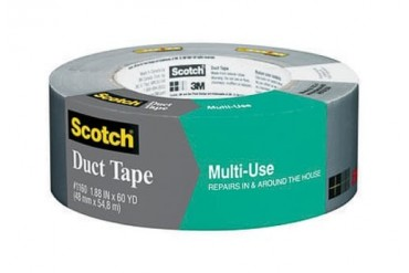 24 Pack Scotch 1160-A Multi-Use Duct Tape 1.88 X 60 Yds.