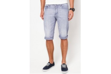 Electro Denim Lab Regular Tapered Denim Bermudas