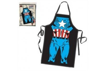 Marvel Comics Captain America Character Costume Body Apron