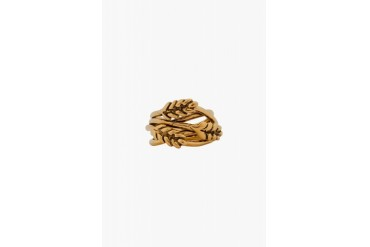 Aurlie Bidermann Yellow Gold Wheat Ring