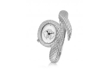 Eva Snake - Logo Stainless Steel Bracelet Dress Watch