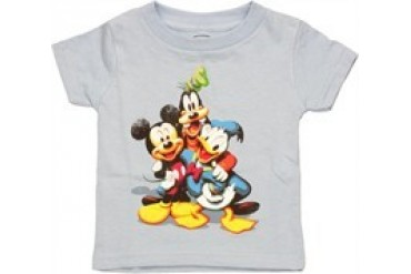 Disney Group Hug Mickey Donald Goofy Infant T-Shirt