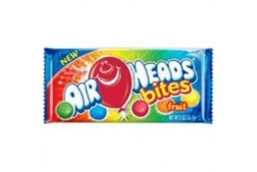24 Pack Continental Concession Ahbitesf24 Airhead Bites Fruit 2Z 24Ct