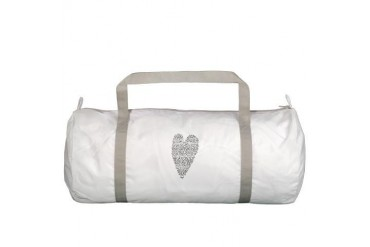Black and white Gym Bag by CafePress