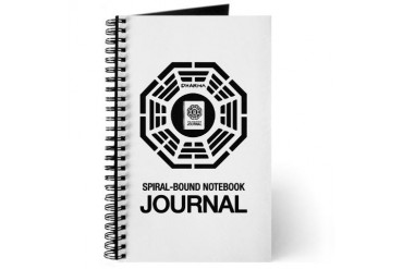 Dharma Initiative Spiral-Bound Notebook Journal