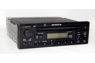 Honda 98-02 Odyssey Van Accord Car Radio AM FM CD Radio w Aux 3.5mm Input