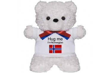Hug me I'm Norwegian Teddy Bear