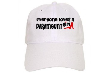 Everyone loves a Paramount Girl California Cap by CafePress