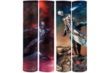 Marvel Comics Silver Surfer Statue Tattoo Sleeves