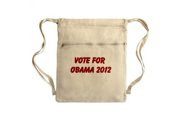 Sack Pack Obama Cinch Sack by CafePress