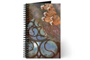 Poe's The Bells, Angels Art Journal by CafePress