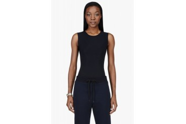 Maison Martin Margiela Black Stretch Classic Bodysuit