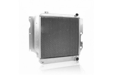 Griffin Thermal Products Performance Aluminum Radiator for Jeep TJ and YJ with GM LS1 Engine and Manual Transmission 5-287LA-JXX Radiator