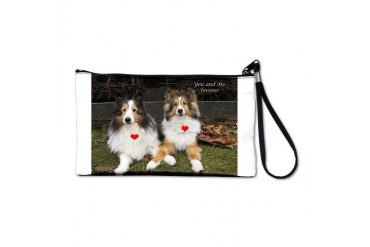 You and Me, forever Dogs Clutch Bag by CafePress