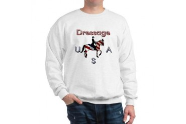 D-USA Horse Sweatshirt by CafePress