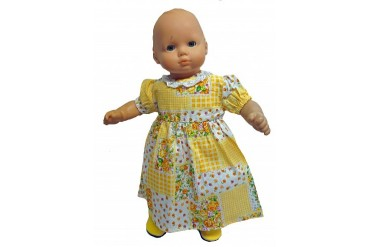 Sunshine Patch Nightgown For Baby Dolls