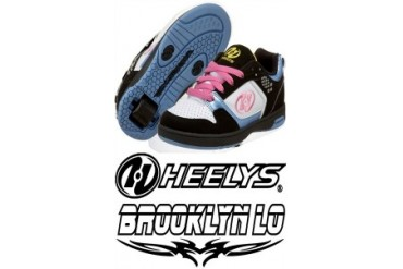 Heelys Brooklyn Lo Rollershoe (White/Black/Pink/Blue/ Yellow)