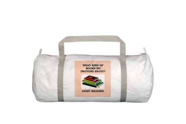 photon Funny Gym Bag by CafePress