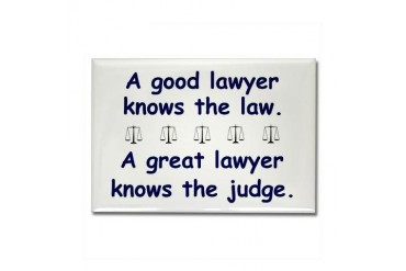 Good/Great Lawyer Rectangle Magnet