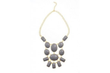 Chic shape statement necklace