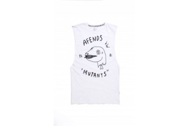 Mens Afends Tank Tops - Afends Mutants Tank Top