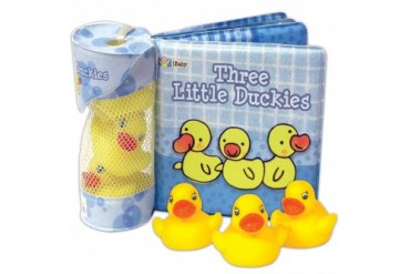 Three Little Duckies Book