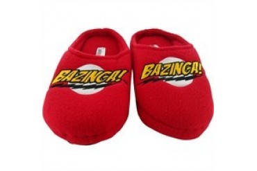 Big Bang Theory Bazinga Red Slippers