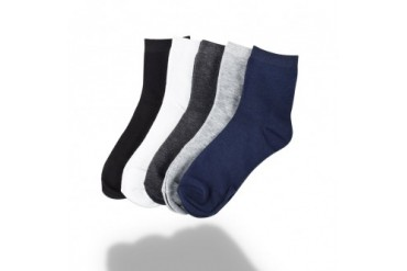 5-Pairs Unisex Anti-Fatigue Bamboo Compression Socks